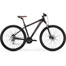 Merida Big Nine 20-MD Mountain Bike 2019 Matt Black (Red/Silver)