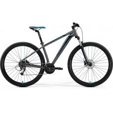 Merida Big Nine 40-D Mountain Bike 2019 Matt Dark Silver (Blue/Black)