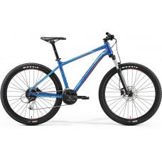 Merida Big Seven 100 Mountain Bike 2019 Glossy Blue (Red)