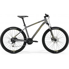 Merida Big Seven 100 Mountain Bike 2019 Matt Grey (Yellow/Dark Grey)