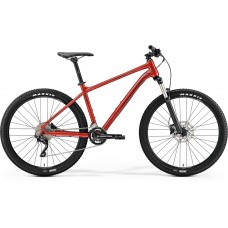 Merida Big Seven 300 Mountain Bike 2019 Metallic Red (Dark Red/Black)
