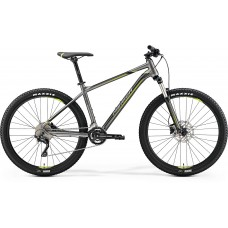 Merida Big Seven 300 Mountain Bike 2019 Silk Anthracite (Green/Black)