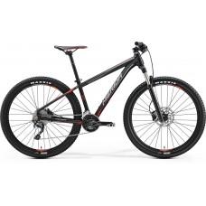 Merida Big Seven 500 Mountain Bike 2017 Matt Black (Red/Grey)
