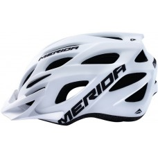 Merida Charger KJ201 Matt White Mountain Bike Helmet