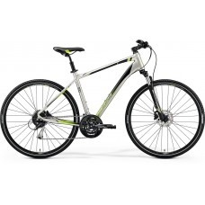 Merida Crossway 100 Hybrid Bike 2019 Silk Titan (Green)