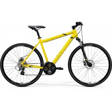 Merida Crossway 15 MD Hybrid Bike 2020 Silk Bright Yellow (Black)