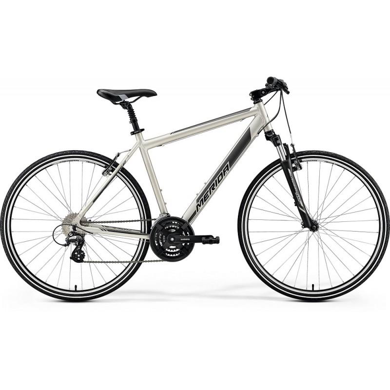 Merida Crossway 15-V Hybrid Bike 2019 Matt Titan (Black)