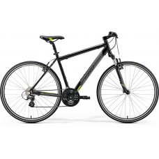 Merida Crossway 15-V Hybrid Bike 2019 Metallic Black (Green)