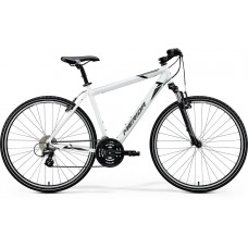 Merida Crossway 15 V Hybrid Bike 2020 Glossy White (Black/Grey)