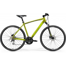 Merida Crossway 20-D Hybrid Bike 2019 Silk Olive (Green)