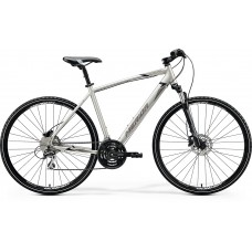 Merida Crossway 20 D Hybrid Bike 2020 Silk Titan (Black/Grey)