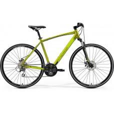 Merida Crossway 20-MD Hybrid Bike 2019 Silk Olive (Green)