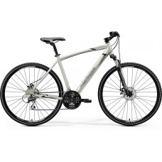 Merida Crossway 20 MD Hybrid Bike 2020 Silk Titan (Black/Grey)