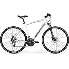 Merida Crossway 40-D Hybrid Bike 2019 Silk Pearl White (Silver)