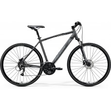 Merida Crossway 40 D Hybrid Bike 2020 Silk Anthracite (Black/Silver)