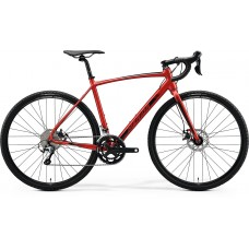 Merida Mission CX 300 SE Hybrid Bike 2020 Silk Xmas Red (Black)