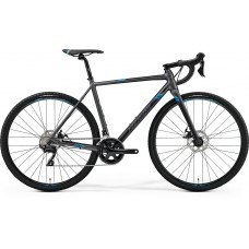 Merida Mission CX 400 Hybrid Bike 2019 Matt Silver (Blue)
