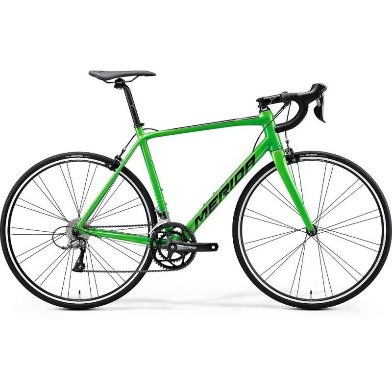 Merida Scultura 100 Road Bike 2020 Glossy Flashy Green (Black)