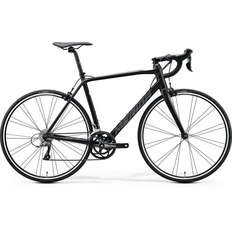 Merida Scultura 100 Road Bike 2020 Matt Black (White)