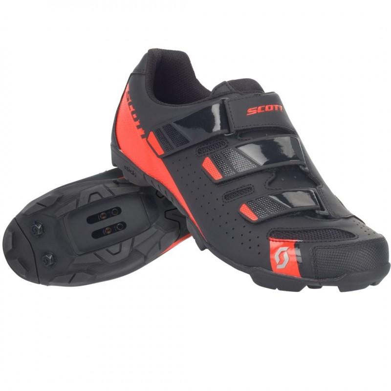 Scott Comp RS MTB Cycling Shoes Matt Black/Gloss Red
