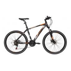 Montra Backbeat 26 MTB Bike 2018 Black With Orange/Grey Graphics