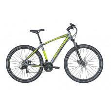 Montra Backbeat 27.5 MTB Bike 2019 Graphite Grey With Neon Yellow Graphics