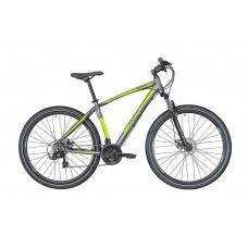 Montra Backbeat 29 MTB Bike 2019 Graphite Grey With Neon Yellow Graphics