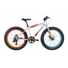 Montra Bigboy 24 Kids Bike 2018 Matte White With Blue/Orange Graphics