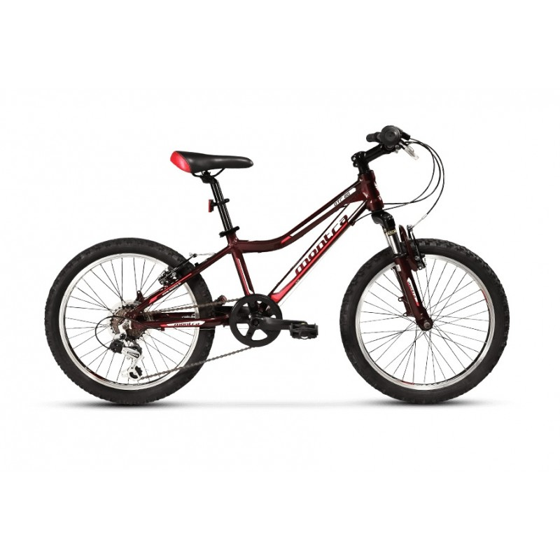 Montra DTR 20 Kids Bike 2018 Red Glossy With White/Grey Graphics