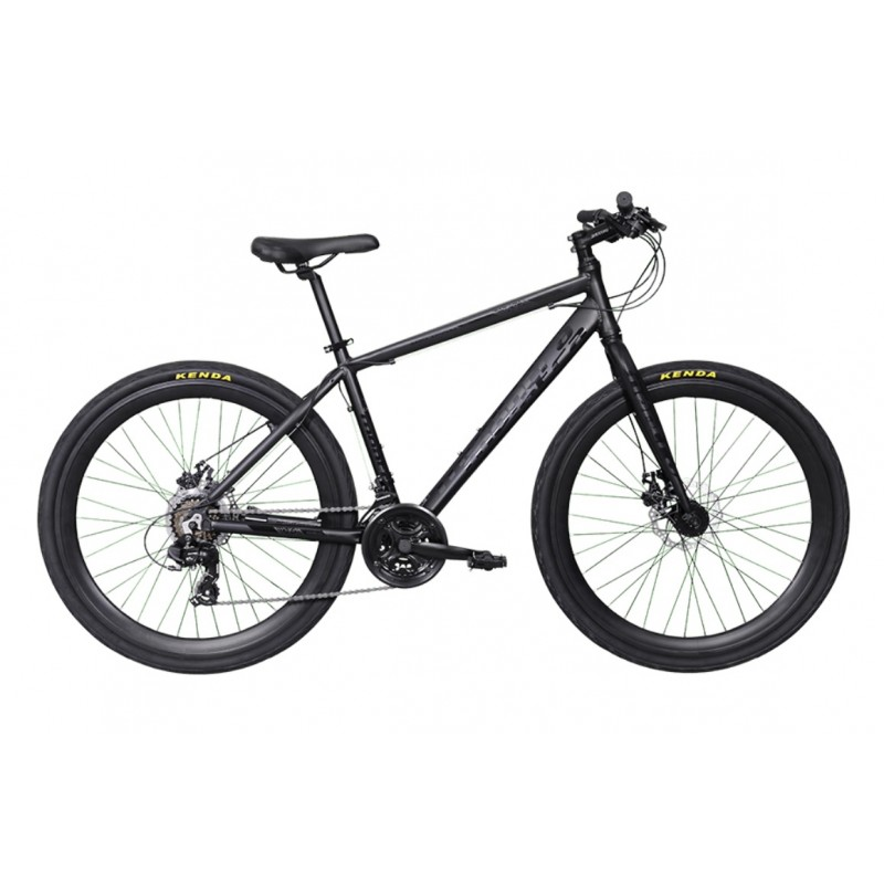 Montra Helicon Urban Sport Bike 2018 Matte Black With Glossy Black Graphics