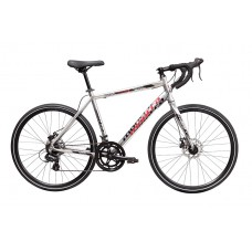 Montra Helicon X Urban Sport Bike 2018 Silver With Red/Black Graphics
