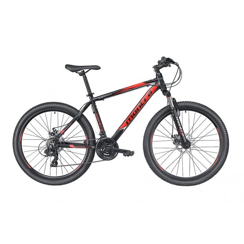 Montra Madrock 27.5 MTB Bike 2019 Charcoal Black With Orange Graphics