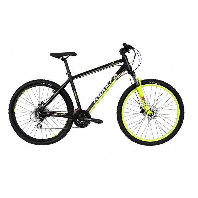 Montra Rock 1.1 (26) MTB Bike 2018 Black With Yellow Graphics