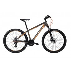Montra Rock 2.1 (26) MTB Bike 2018 Matte Grey With Blue/Orange Graphics