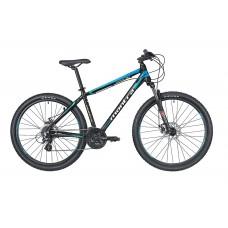 Montra Rock 2.1 (27.5) MTB Bike 2019 Carbon Black With Blue Ombre Graphics