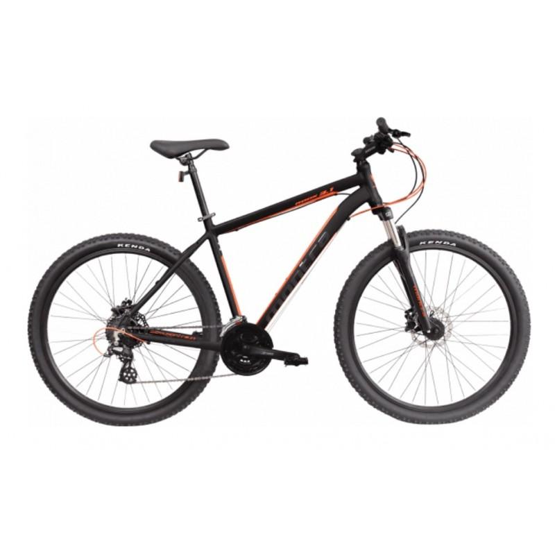 Montra Rock 3.1 (27.5) MTB Bike 2018 Matte Black With Orange Graphics