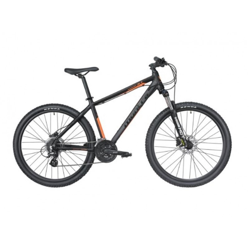 Montra Rock 3.1 (29) MTB Bike 2019 Carbon Black With Neon Orange Graphics