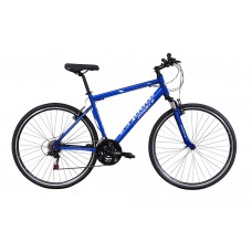 Montra Trance Hybrid Bike 2018 Blue With White Graphics