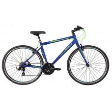 Montra Trance Pro Hybrid Bike 2018 Drak Blue With Green Graphics