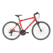 Montra Trance Pro Hybrid Bike 2018 Nickel Red With White Graphics