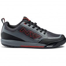 Northwave Clan Flat Cycling Shoes Anthra Red