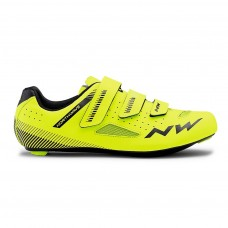 Northwave Core Cycling Shoes Yellow Fluo Black