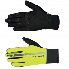 Northwave Dynamic Full Glove Yellow Fluo Black