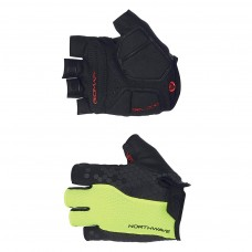 Northwave Evolution Short Gloves Yellow Fluo Black