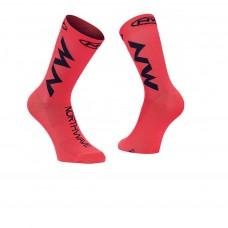 Northwave Extreme Air Socks Lobster Orange Black