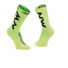 Northwave Extreme Air Socks Yellow Fluo Black