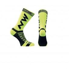 Northwave Extreme Light Pro Socks Yellow Fluo Black