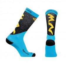 Northwave Extreme Pro High Socks Blue Orange