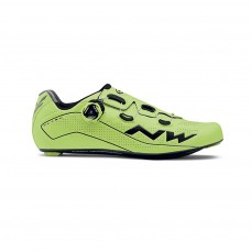 Northwave Flash Cycling Shoes Yellow Fluo Black