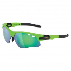 Northwave Galaxy Sunglasses With Optical Adaptor Green Fluo Black